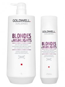 Goldwell Dualsenses Blondes & Highlights Anti-Gelbstich...