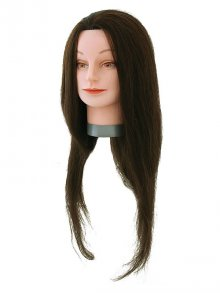 Hairforce Übungskopf Standard 60cm braun