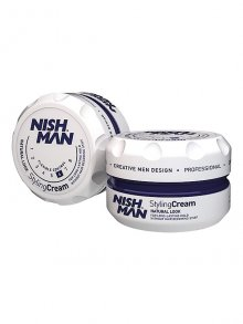 Nish Man Hair Styling Cream Natural Look 150ml