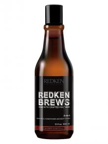 Redken§Brews 3-in-1 Shampoo 300ml