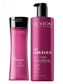 Revlon§be Fabulous Normal/Thick Hair Cream Shampoo