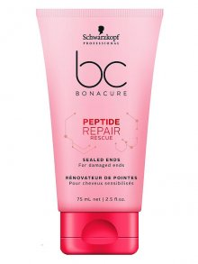 Schwarzkopf BC Bonacure Peptide Repair Rescue Sealed Ends